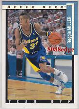 Carte card NBA Upper Deck1994 N°31 Reggie MILLER Indiana PACERS