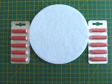 Dyson DCO4, 08,19,20,29 Post Motor De Filtro + Ambientadores Rojo