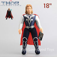The Avengers Super Hero Thor Plush Toy Soft Stuffed Doll Figure 18'' 45cm Gift