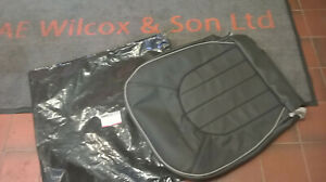 GENUINE ROVER HCA000850WCE BLACK LEATHER SEAT CUSHION COVER ROVER 75 DRIVER SIDE