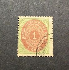 US Danish West Indies Stamp Scott#  5 Coat of Arms 1874-79  L106