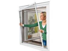 Moustiquaire aluminium ajustable à monter soi même pour fenêtre max 150 x 130cm
