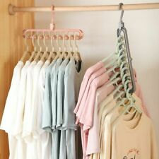 Magic Multi-port Support Hangers For Clothes Drying Rack Multifunction Plastic