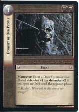 Lord Of The Rings CCG Card MoM 2.C2 Disquiet Of Our People