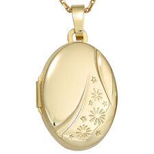Medaillon aus Gelbgold ohne Steine