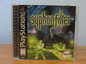 Syphon Filter (Sony PlayStation 1, 1999) Greatest Hits (CIB)