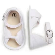 Newborn Baby Girl Soft Sole Crib Shoes Infant Toddler Summer Sandals 0-18 Months