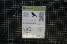 STAMPIN UP! Choose Happiness stamp set of 7