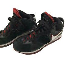 Nike Lebron VIII 8  Bred Miami Heat Shoes Sneaker 417098-002 Black Red Size 11.5