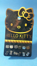 Earring Pack  Set-6 Loungefly Loves Hello Kitty Sanrio Ear Rings Pierced
