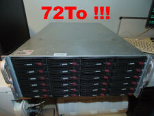 RORKE DATA AURORA (72To) P/N SC846A-R1200B Serveur De Stockage