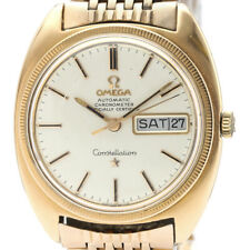 Vintage OMEGA Constallation Chronometer Cal 751 Pink Gold Plated Watch BF508574