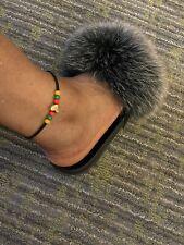 Anklet Bracelet Handmade Rasta One Love
