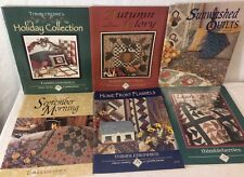 Collection 6 Of  Lynette Jensen Thimbleberrie Soft Cover Book