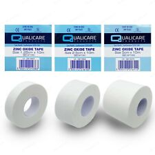 Zinc Oxide White Tape Roll | Medical Injury Fitness Strapping Sports Binding