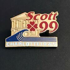 New listing CURLING PIN SCOTT CHARLOTTETOWN 1999