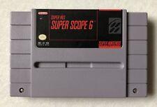 Super Scope 6 (Super Nintendo Entertainment System, 1992)
