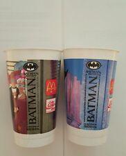 Batman returns 1992 mcdonalds cups , batman ( canadian )