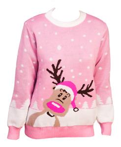 Weihnachtspullover Weihnachtspulli Rentierpulli Damenpulli Weihnachten Pullover