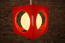 Space Age plafoniera lampada PENDANT LAMP LIGHT PANTON era 70er