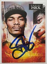 Snoop Dogg Signed Panini HRX 2013 Doggystyle Rapper Actor Rare LEGEND RAD
