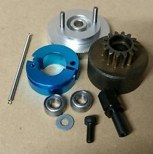 1/10 RC Car/Buggy/Truck/Truggy Nitro Clutch Flywheel Kit 2 Shoe Silver