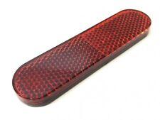 Reflektor Katzenauge 96x24mm Rot Selbstklebend E-Geprüft