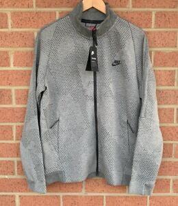 Nike Sportswear Tech Fleece GX 1.0 Jacket Heather Grey 886172-091 - Men's Size L