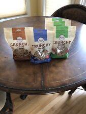 New listing 5 Bags Nutro Natural Crunchy Dog Treats Apple 16 oz