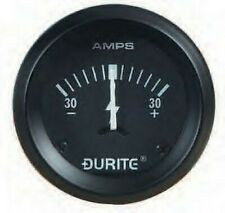 """Land Rover Series 1 2 2a 3 Dash Panel 2"""" Auxiliary Ammeter Illuminated Gauge"""
