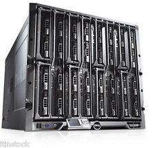 Dell PowerEdge M1000E Blade Enclosure with 8 x M600 Quad Core 3.0 Blade Servers