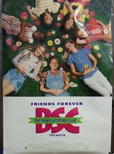The Baby-Sitters Club Original Double Sided Movie Poster Rachael Leigh Cook