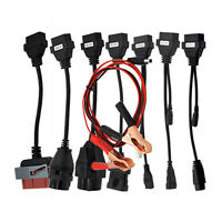 8pc OBD2 Diagnostic Car Cables Set OBD Adapter Kit For BMW OPEL AUDI FIAT PSA
