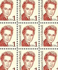 1986 - MARGARET MITCHELL - #2168 Full Mint -MNH- Sheet of 100 Postage Stamps