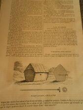 Pyromètre pour meules Gravure Print 1871