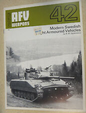 Profile AFV Weapons Magazine #42 Modern Swedish Light Armoured Vehicles PN - 42