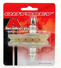 Odyssey A Brake BMX Bike Shoes/Pads Clear Soft Compound