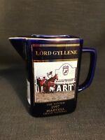 Seton Pottery Martell Grand National Winner Ltd Edition Jug 1997 Lord Gyllene