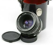 Vintage Oreston Meyer-Optic Gorlitz Zebra 50mm f/1.8 M42 mount Lens SLR DSLR C13