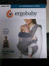 Ergobaby Omni 360 All-in-one baby carrier newborn-toddler -Jacks