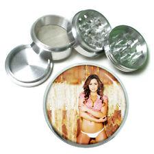 Farmers Daughter Pin Up Girls D9 63mm Aluminum Kitchen Grinder 4 Piece Herbs