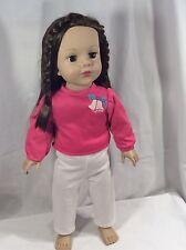 Madame Alexander Doll 18 inch Doll Brown Hair Brown eyes