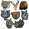 Assorted Embroidered Iron On Badge Sew Patch Animal Clothes Embroidery Applique