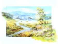 Reint Withaar Landschaft mit Fluss Poster Kunstdruck Bild 60x80cm