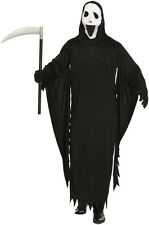 Adult SCREAM GHOST DEMON Halloween Fancy Dress Costume Outfit (M/L) V00 324