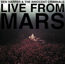 BEN HARPER & THE INNOCENT CRIMINALS (LIVE FROM MARS - 2CD SET SEALED + FREEPOST)