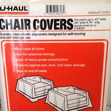 NEW Chair covers for moving and storage protection from dust etc   Fast Shipping