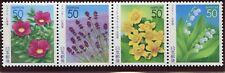 Japan 2005 Prefecture Nh Scott Z664-67 Z667a Hokkaido Flowers