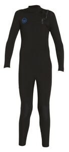 XCEL YOUTH 4/3 COMP X Wetsuit - Boys Size 8 - BLK - NWT - LAST ONE LEFT