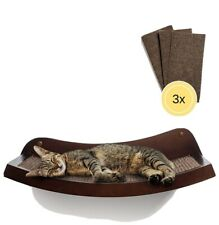 "HumaneGoods 19"" Deluxe Cat Wall Shelf - Wall-Mounted"